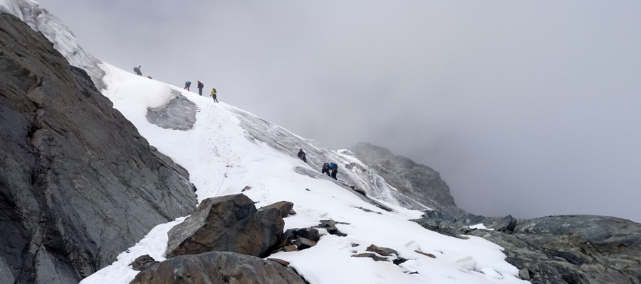 Climbing Mountain Rwenzori