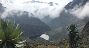 Lakes on Mount rwenzori