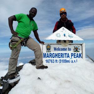 Margherita Peak