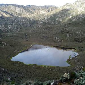 Lakes in Rwenzori Mountain
