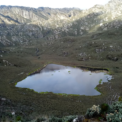Lakes in Rwenzori Mountain