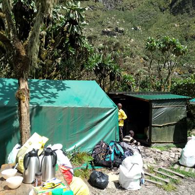 Camping Mt. Rwenzori