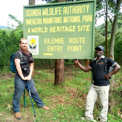 Base of Kilembe Trail